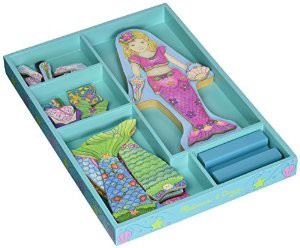 Magical Gifts for Little Girls - Melissa & Doug Mermaid Magnetic Dress Up
