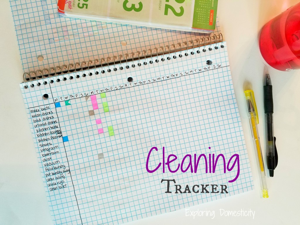 Cleaning Tracker