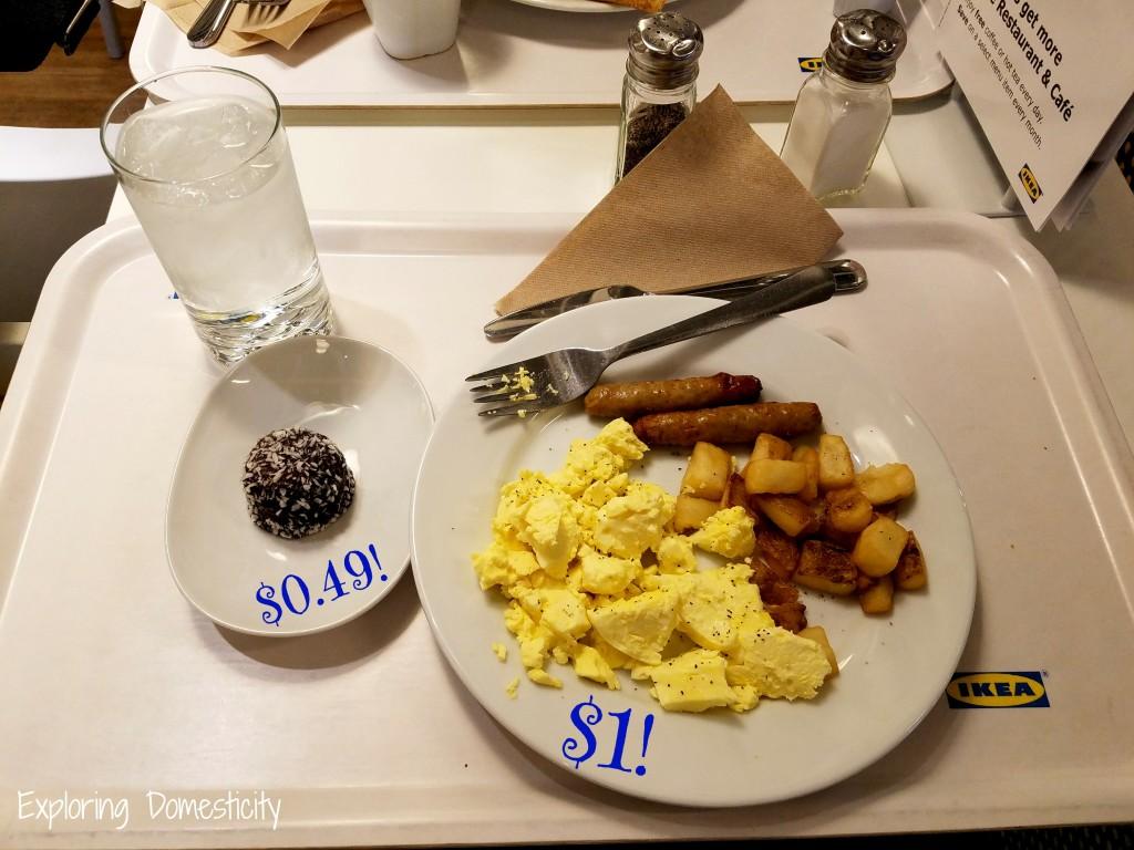Insider tip: IKEA serves breakfast for $1!!!