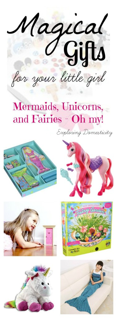 Magical Gift Ideas for Little Girls: Mermaids, Unicorns, and Fairies