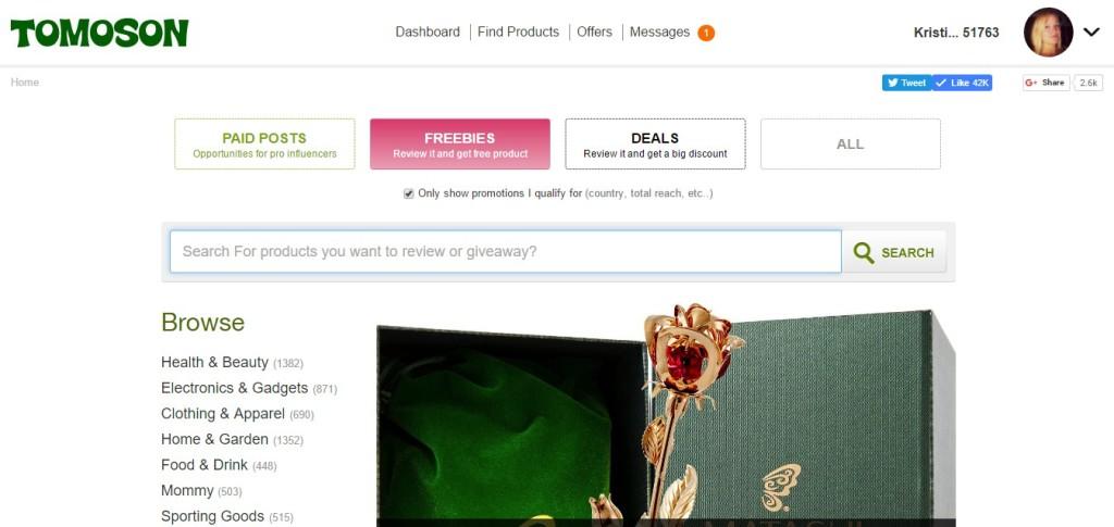 Free Amazon Products - Tomoson