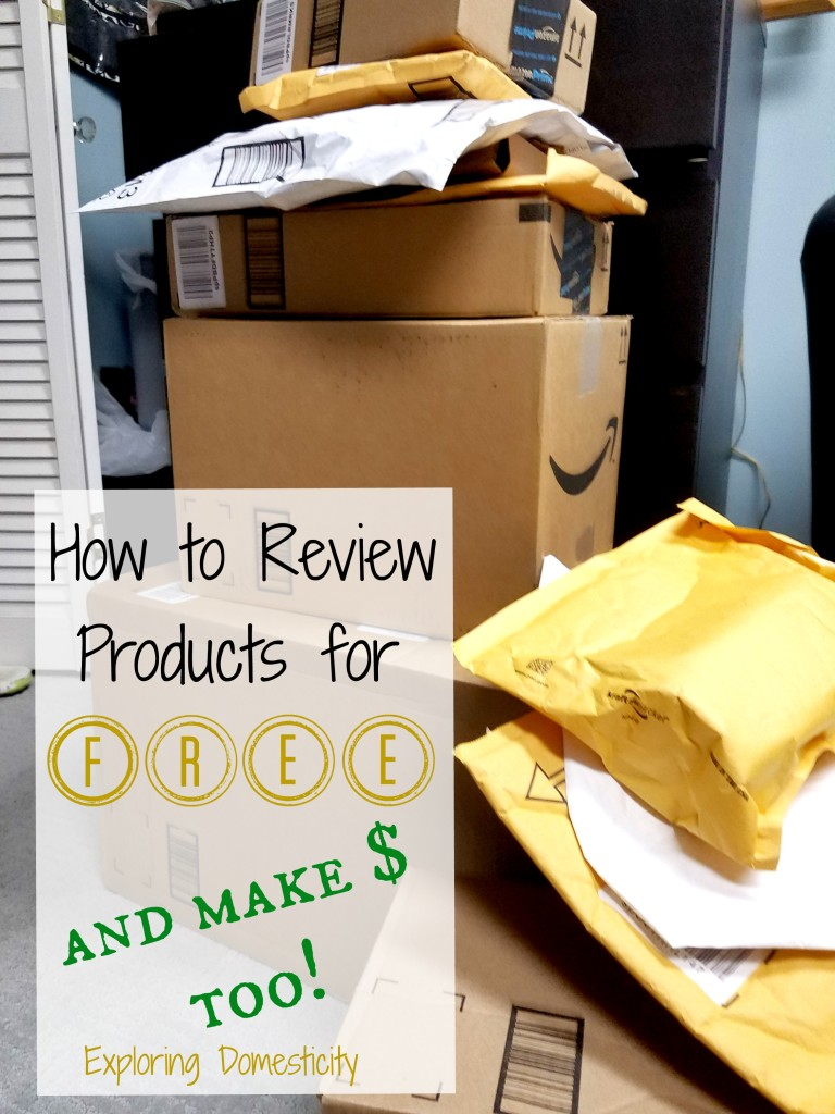 How to review products for free and make money too