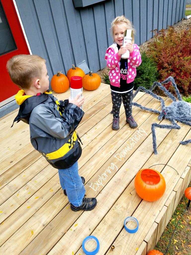 DIY Personalized Halloween Pumpkin Bucket