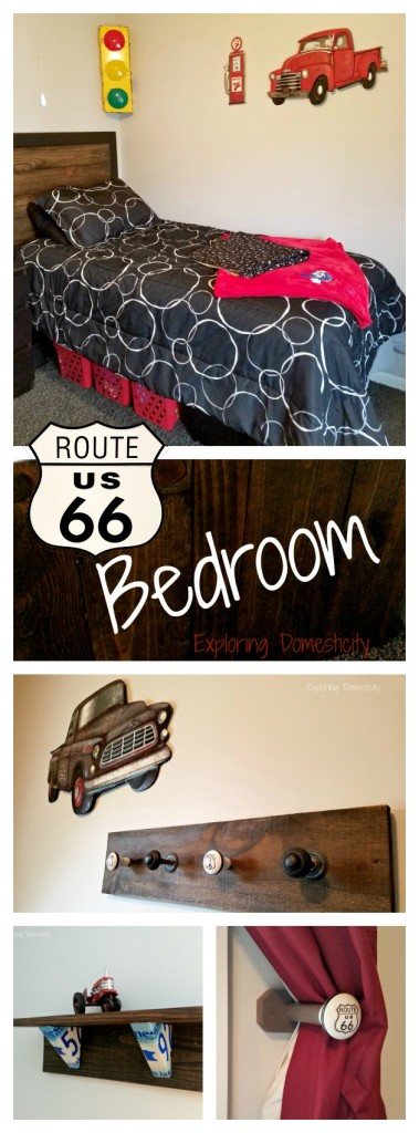 Route 66 Bedroom