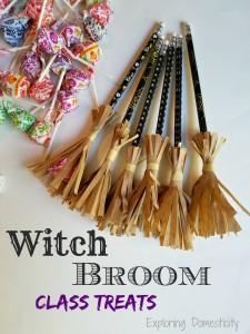 Witch Broom Halloween Class Treats