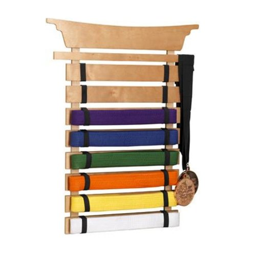 Martial Arts Gift Guide: Belt Display
