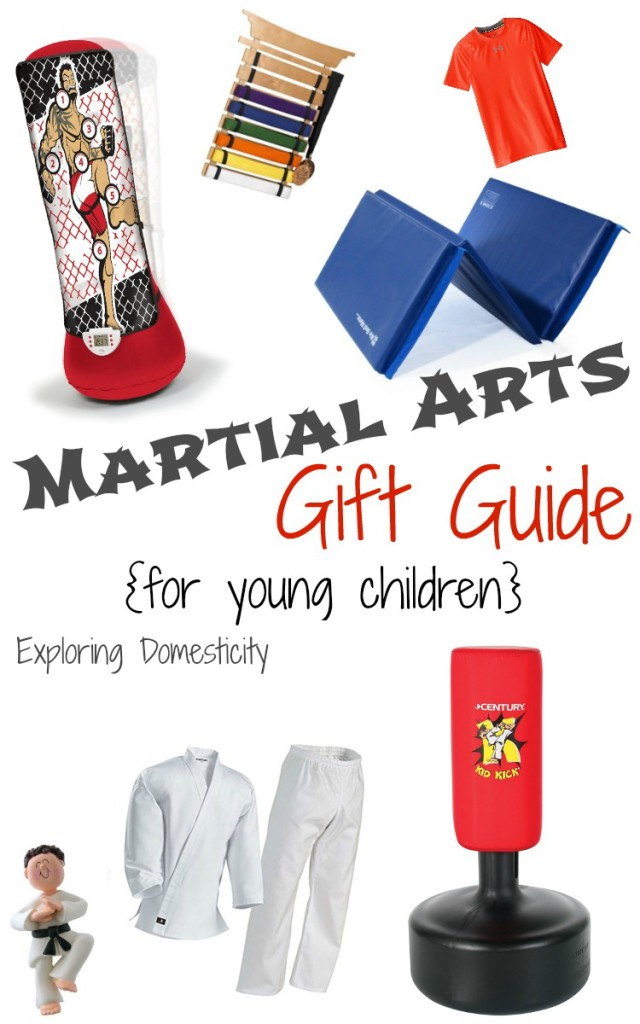Martial Arts Gift Guide (for young children)