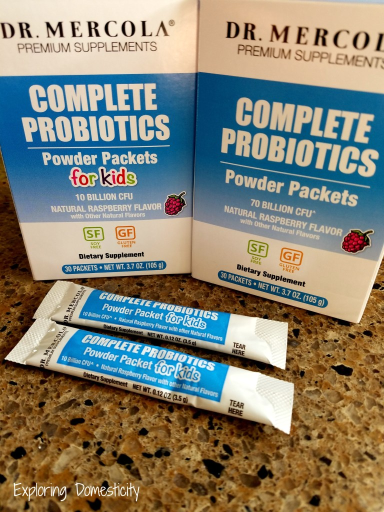 Dr. Mercola's Complete Probiotic Powder Packets for kids