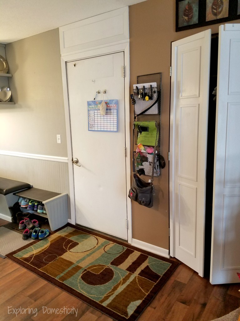 Small Entryway Transformation Before