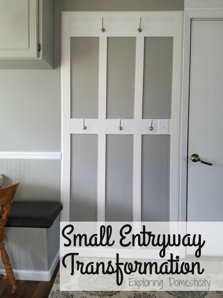 Small Entryway Transformation