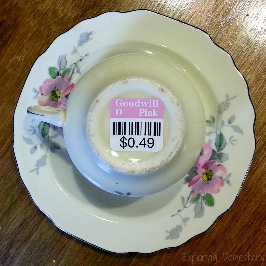 Practical Teacher Gift presented in an adorable teacup