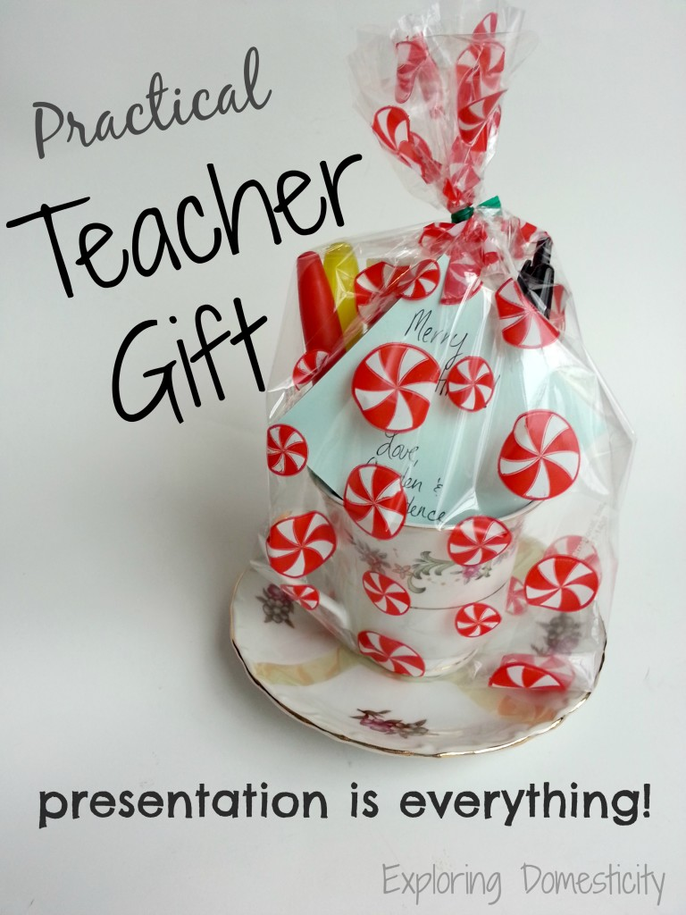 Practical Teacher Gift: Presentation is everything!