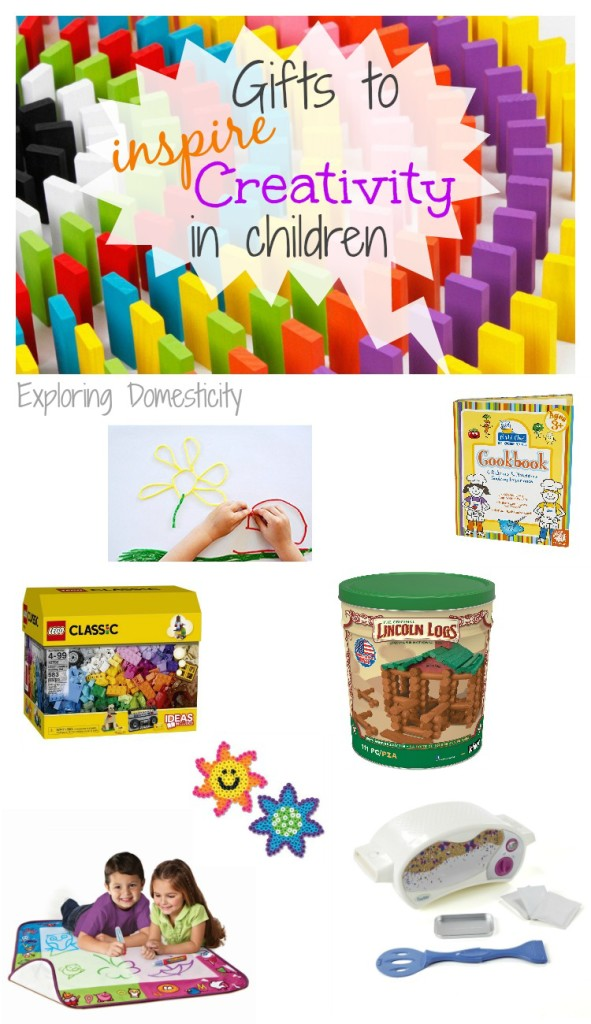 Gifts to Inspire Creativity in Children - gift ideas to get the creative juices flowing