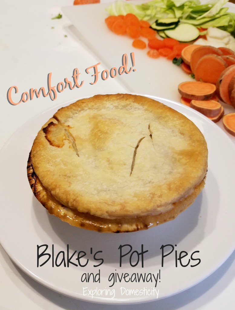 Blake's Pot Pies: review and giveaway
