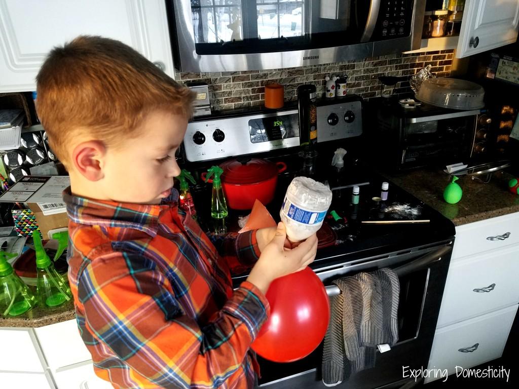DIY Teacher Gift with Essential Oils: Easy Stress Ball