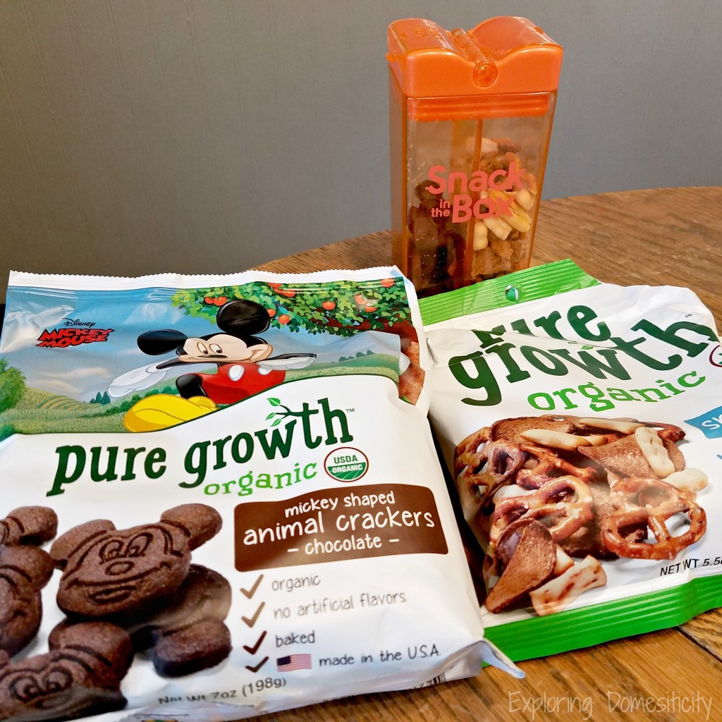 Affordable Organic Snacks for Kids: Pure Growth Organics in Snack in the Box