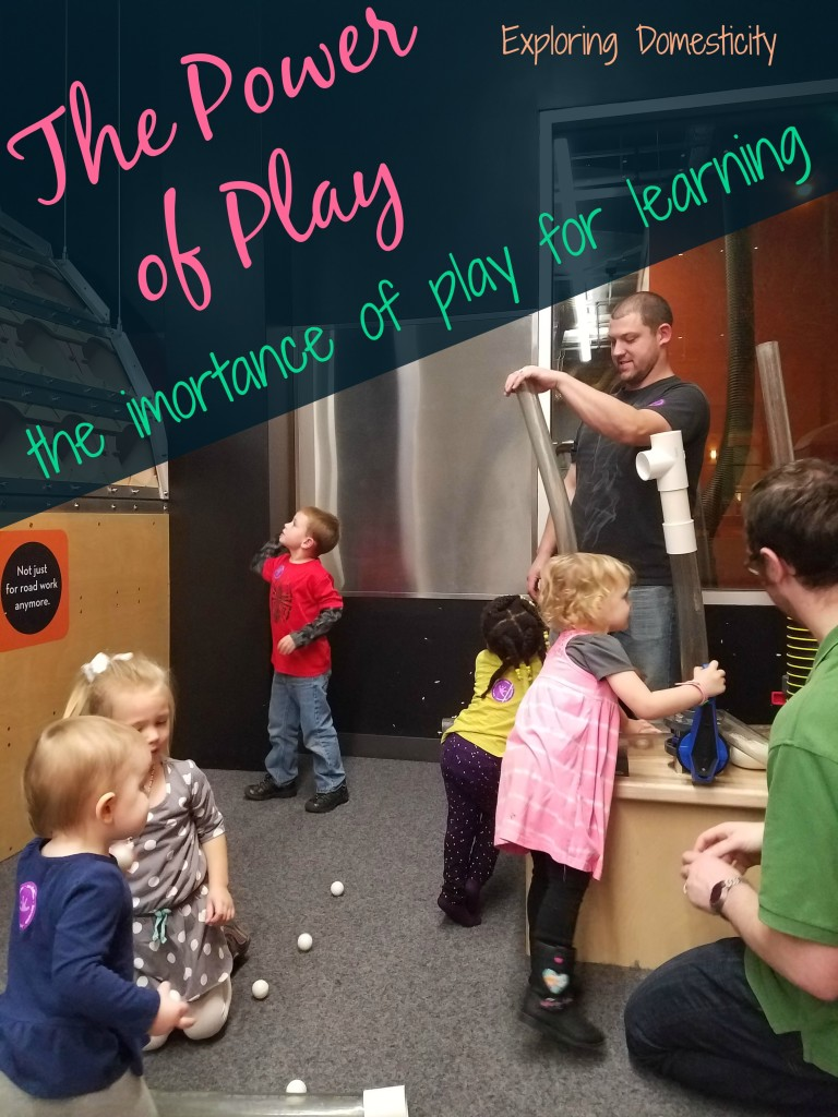 The Power of Play: the importance of play for learning