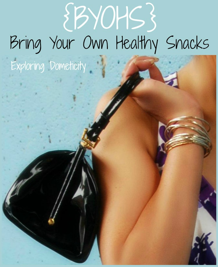 BYOHS: Bring Your Own Healthy Snacks: Tips for resisting temptation when on the go