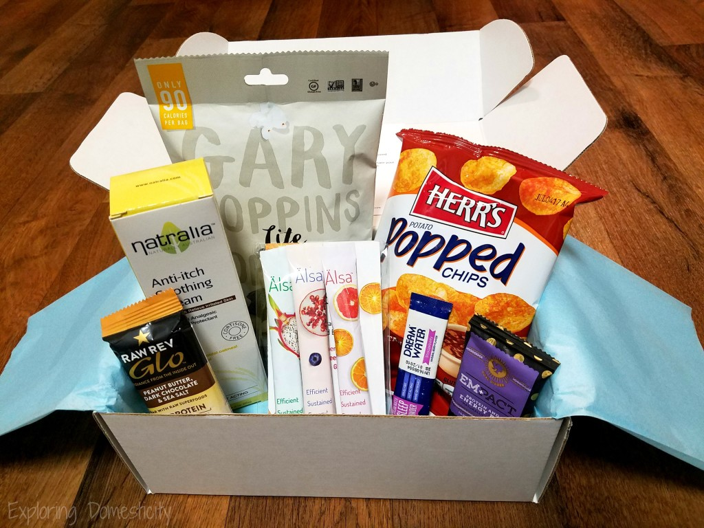 Bring Your Own Healthy Snacks: Daily Goodie Box