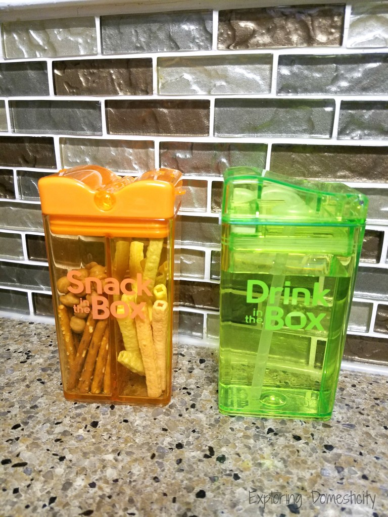 Bring Your Own Snack Tip - portioned snacks