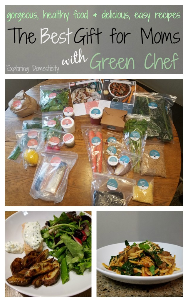 The Best Gift for Moms - gorgeous and delicious food - Green Chef
