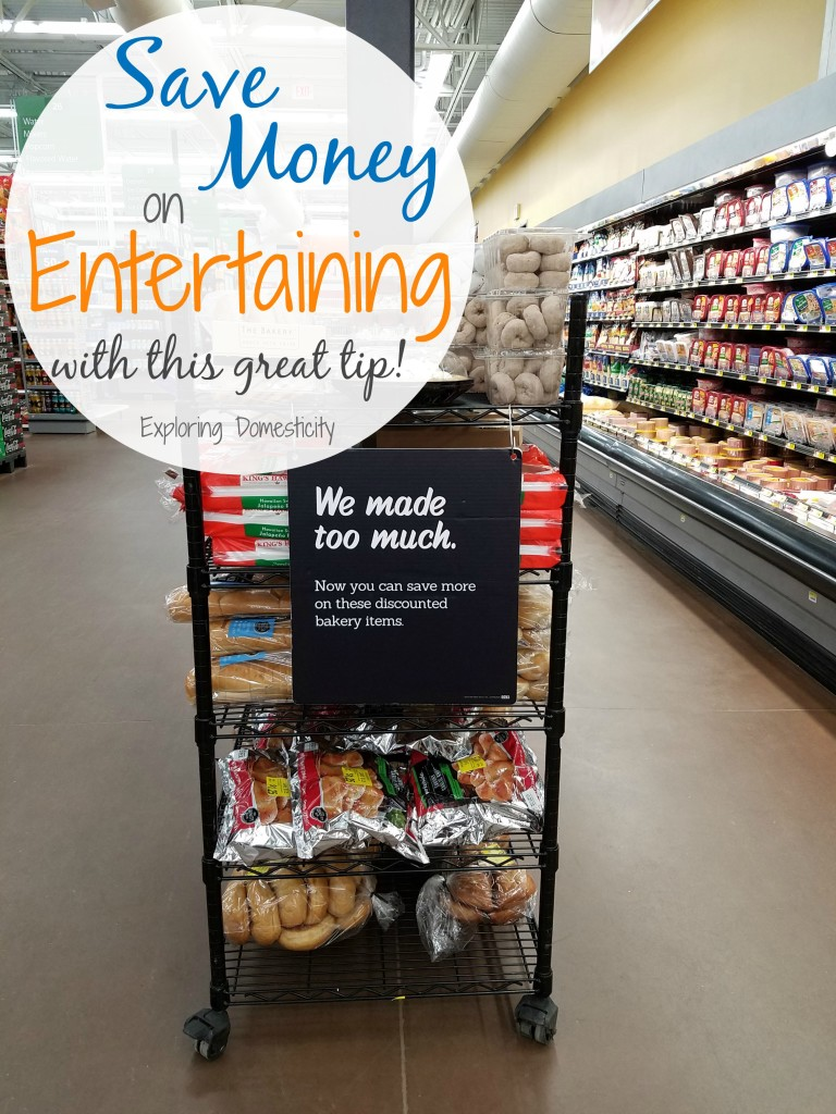 Saving Money on Entertaining - this tip has saved us over $100 this past year