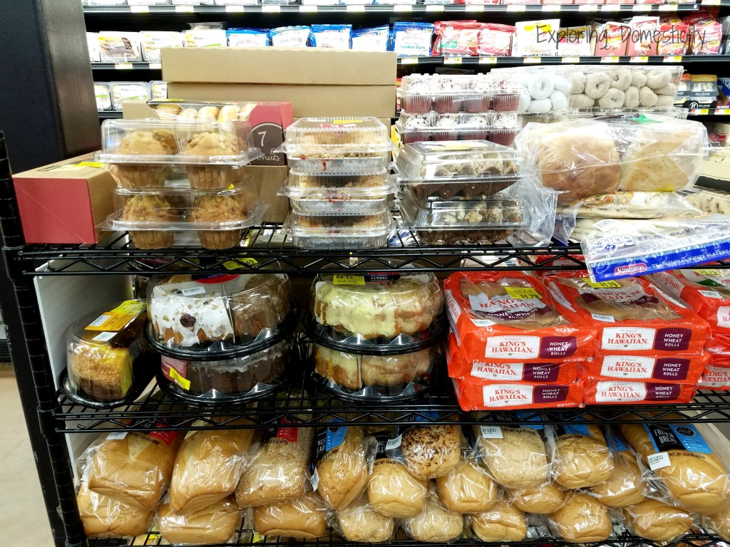 Saving Money on Entertaining with bakery markdowns