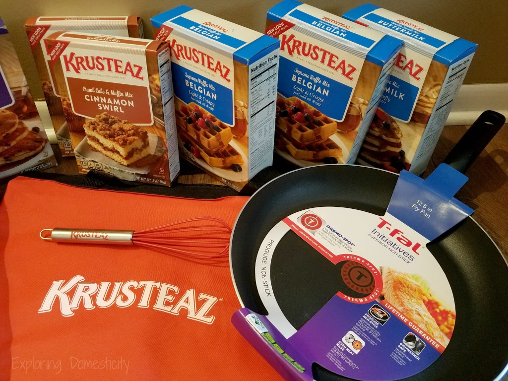 breakfast for dinner: Krusteaz Giveaway!