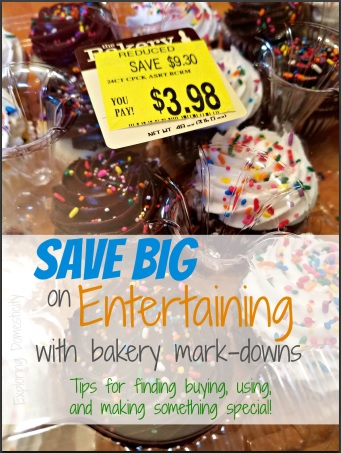 Save Big on Entertaining with bakery markdowns