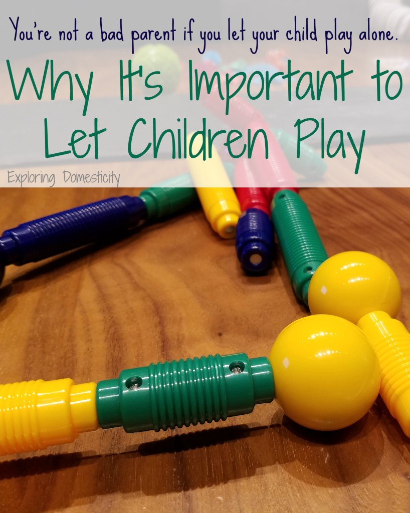 Why it's Important to Let Children Play #PlayMoreMN