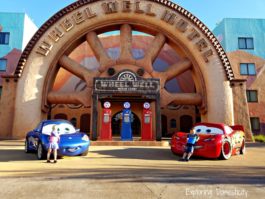 WDW Art of Animation Cars Suites