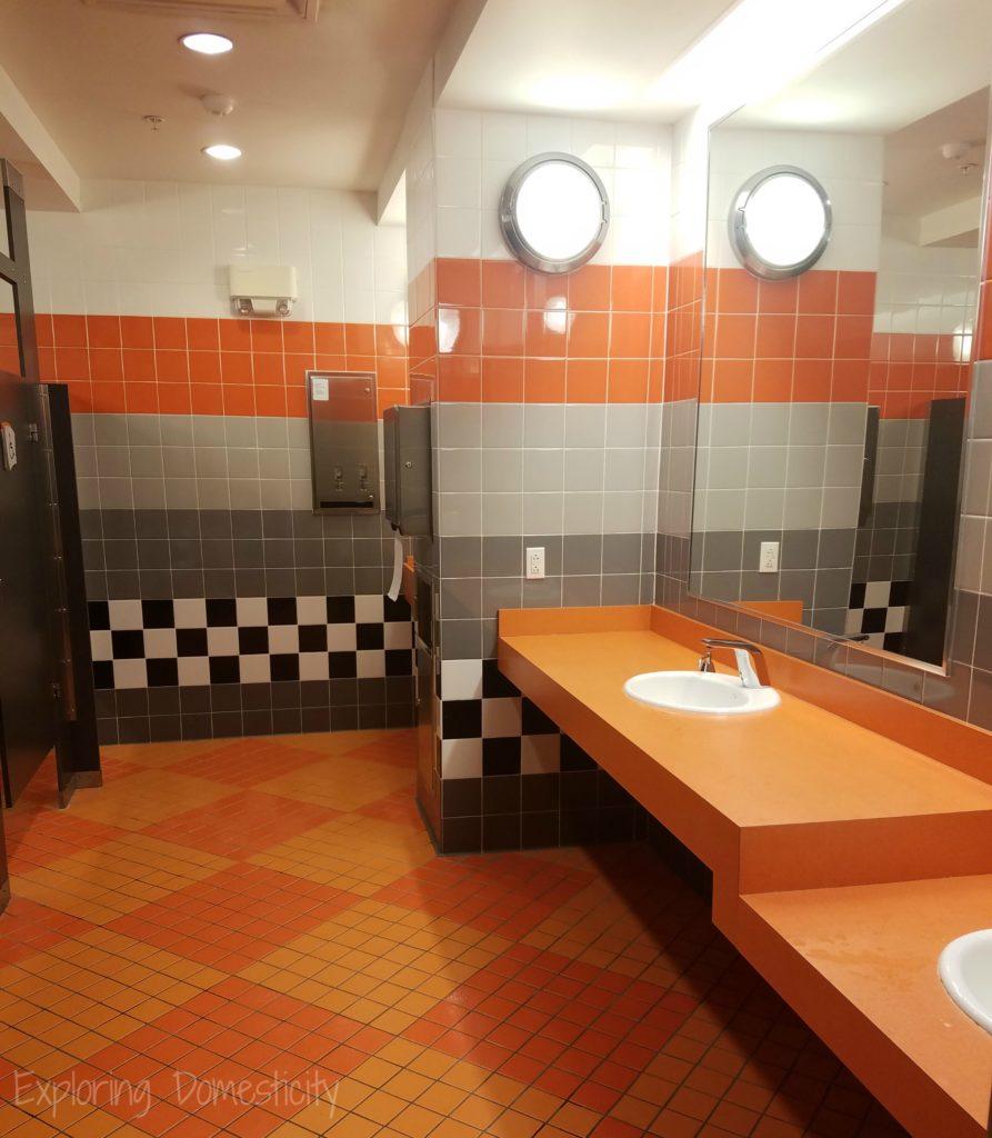 Art of Animation Resort Cars Cozy Cone Pool Bathroom