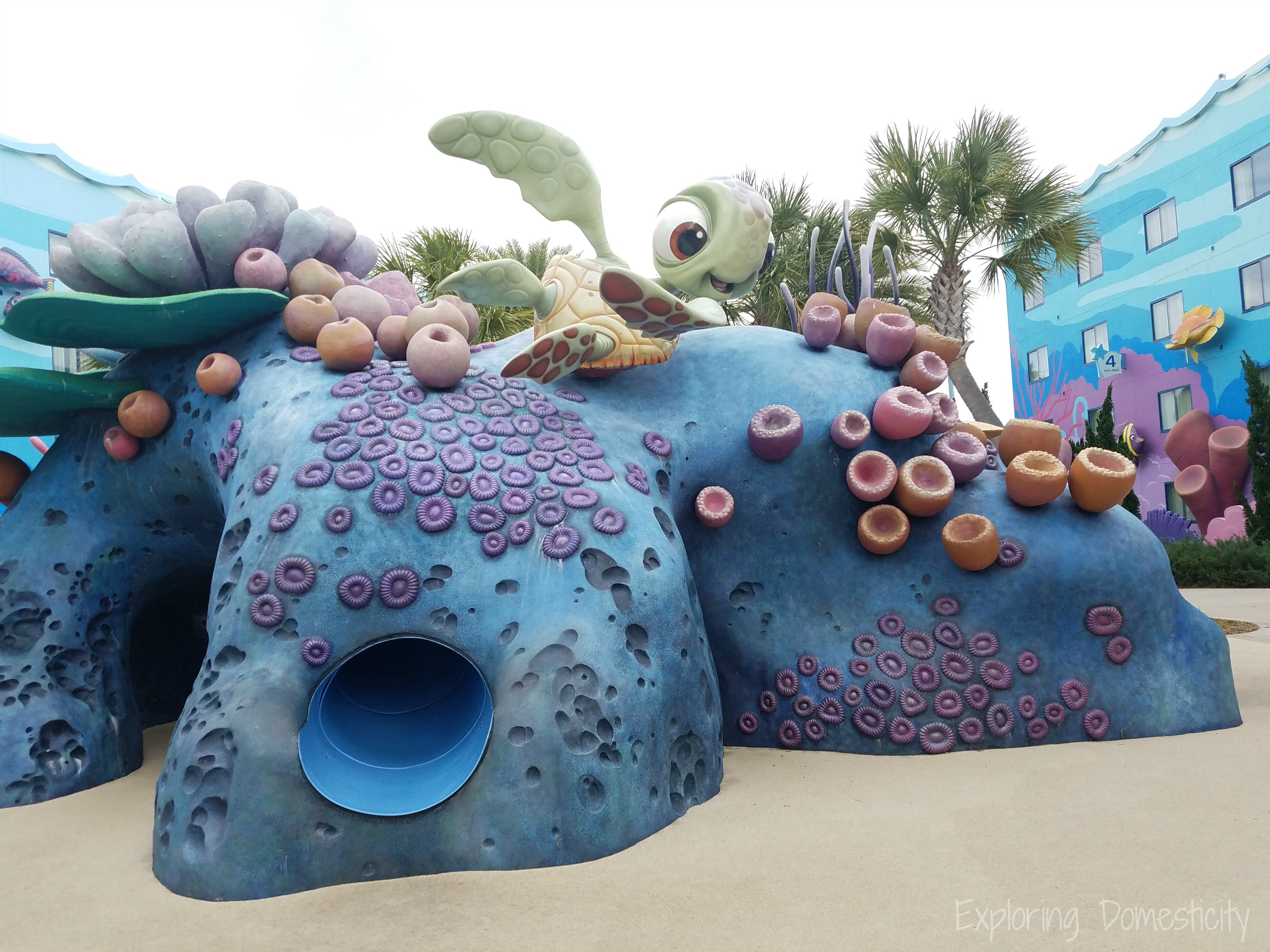 Art of Animation Pool Day and Piczzle Giveaway WDW Day 3 #0: Art of Animation Resort Playground
