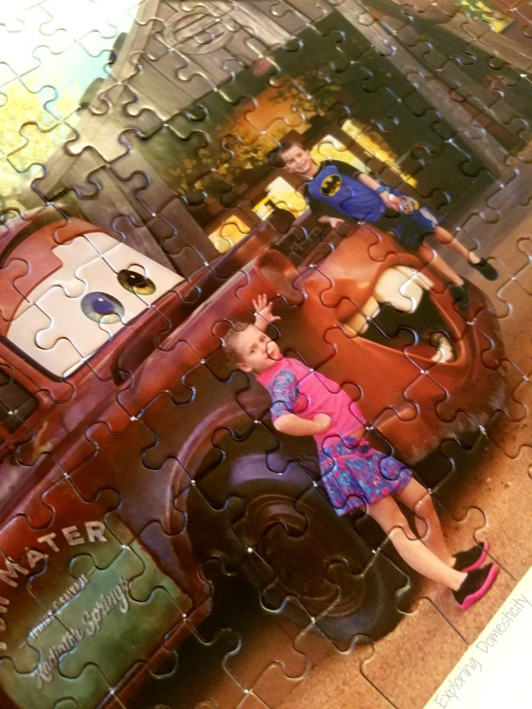 Custom puzzle from your vacation photo with Piczzle