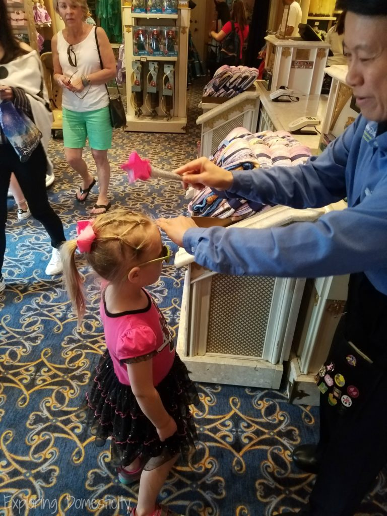 Get Pixie Dusted at Castle Couture at the Magic Kingdom
