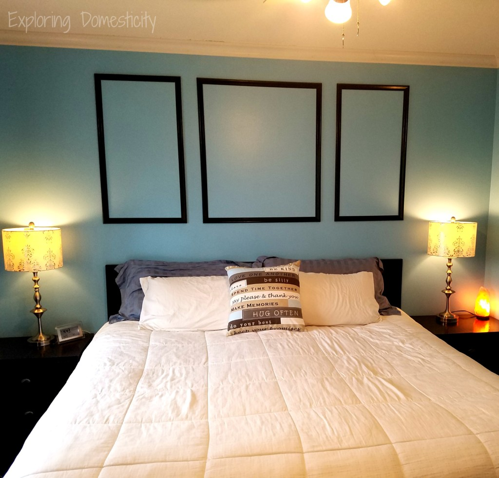 Small Fixes to Sell Your House Fast - (bedroom) lots of lighting