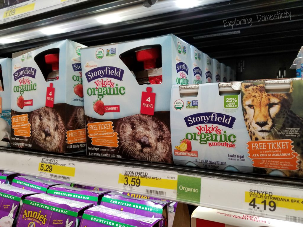 Stonyfield Organic YoKids AZA Zoo or Aquarium offer