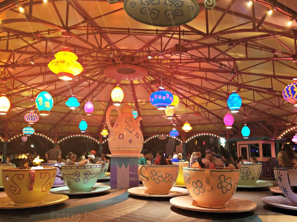 Teacups WDW 2017 Magic Kingdom