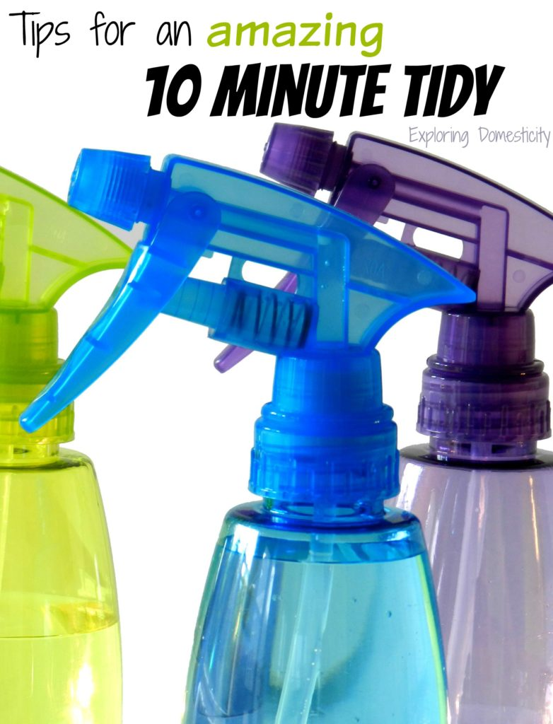 Tips for an Amazing 10 Minute Tidy