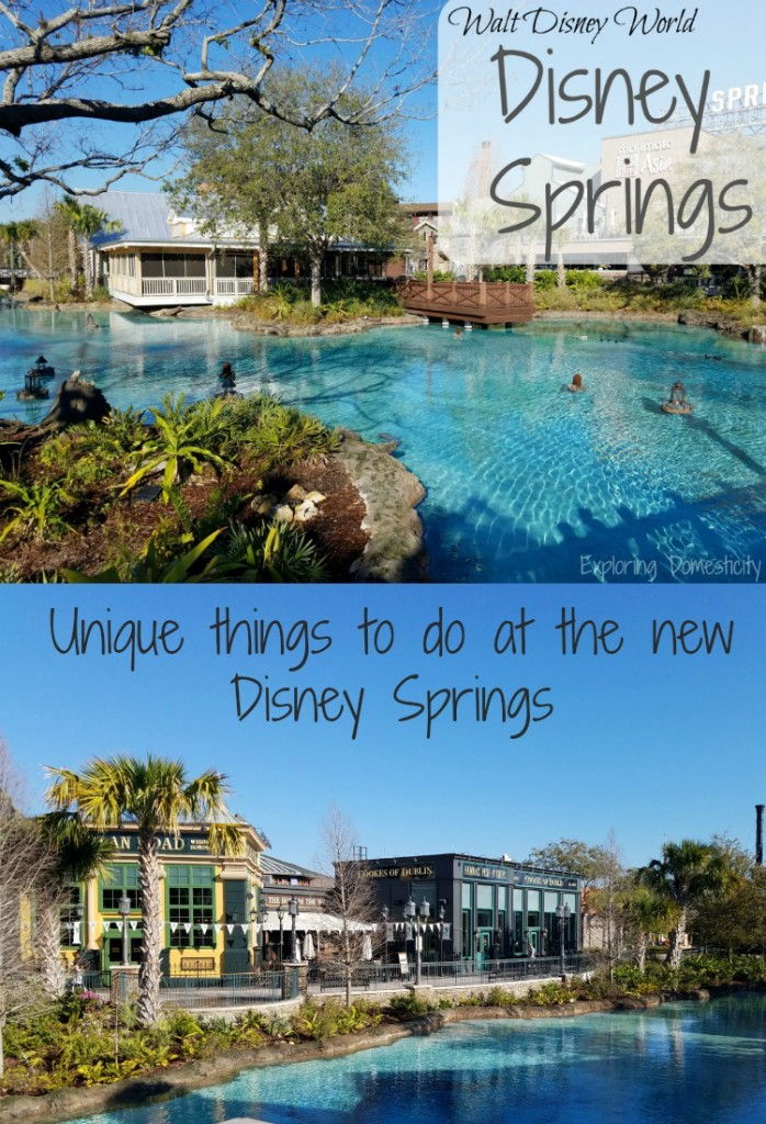 Unique things to do at Disney Springs in Walt Disney World