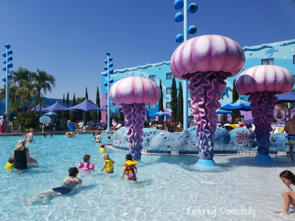 WDW Art of Animation The Big Blue Pool