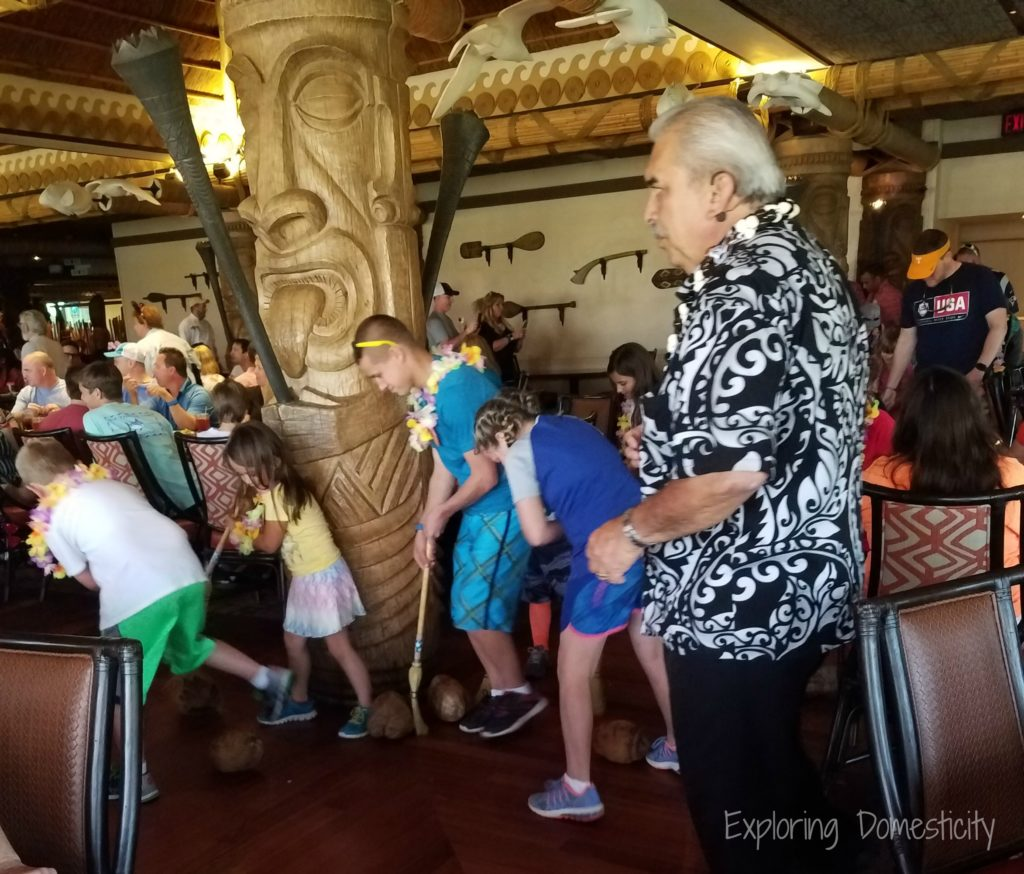 Walt Disney World O'hana at the Polynesean Resort