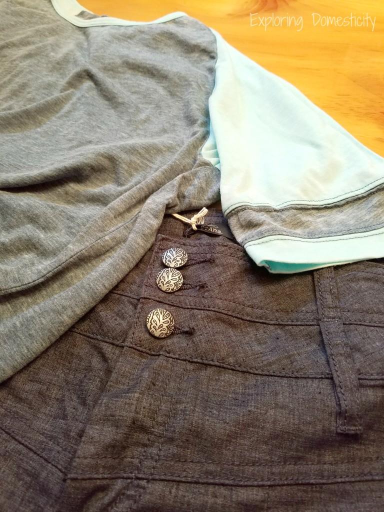 Adorable, comfy spring clothes for mom #prAnaMama