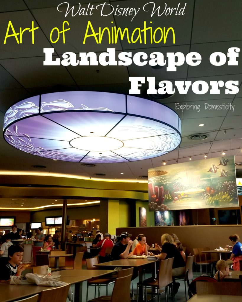 Art of Animation Landscape of Flavors