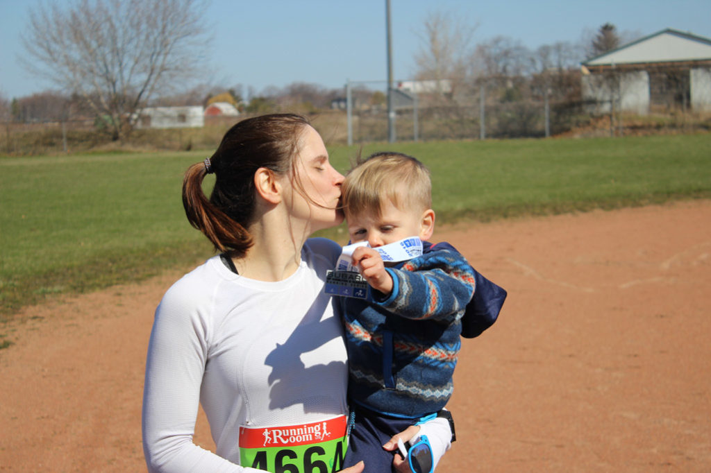Motivating Mom Lucie - active family