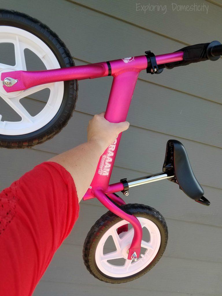 Lightweight Scraaam balance bike