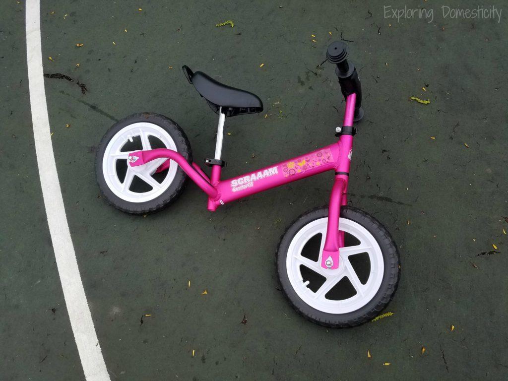 Pink Scraaam Balance Bike