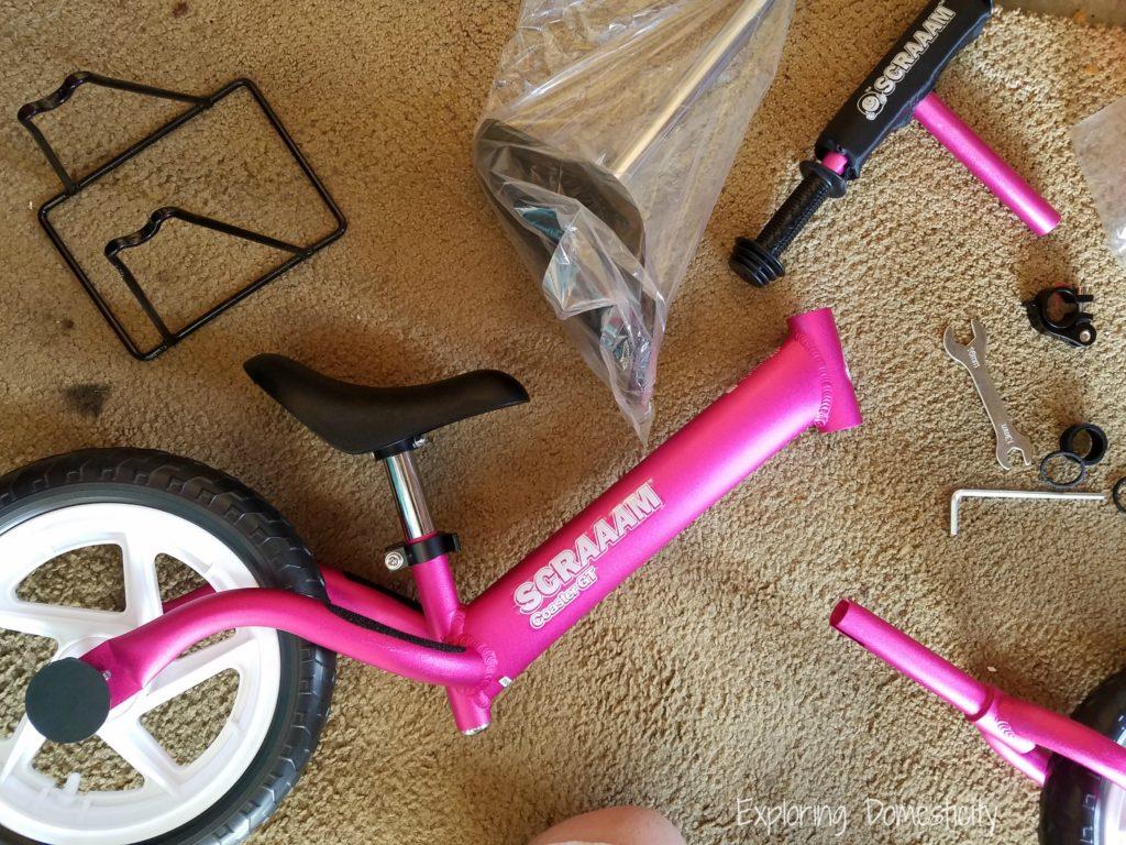 Scraaam Balance Bike - easy to assemble