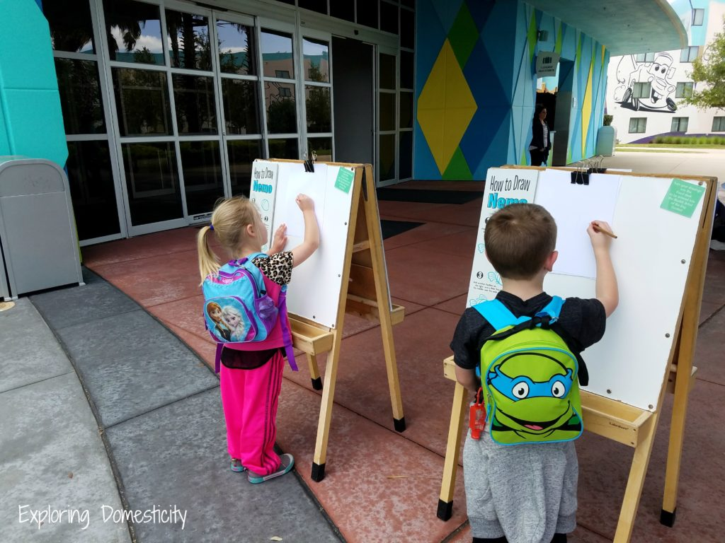 WDW 2017 Leaving the Art of Animation Resort