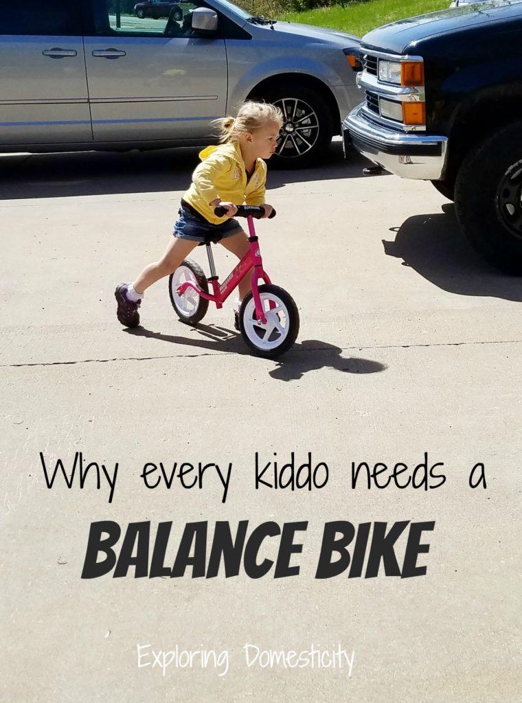 Why every kiddo needs a balance bike